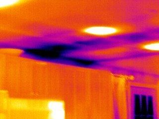 termografija curenje vode u plafonu